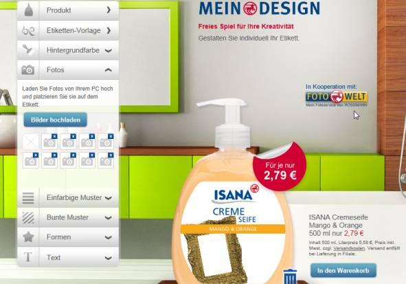 rossmann Mein Design