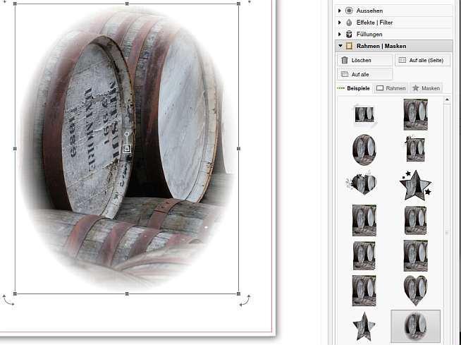 Saal Fotobuch Rahmen