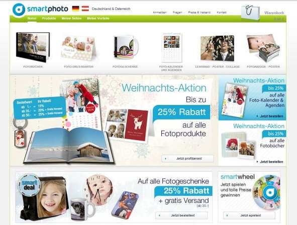 smartphoto website start