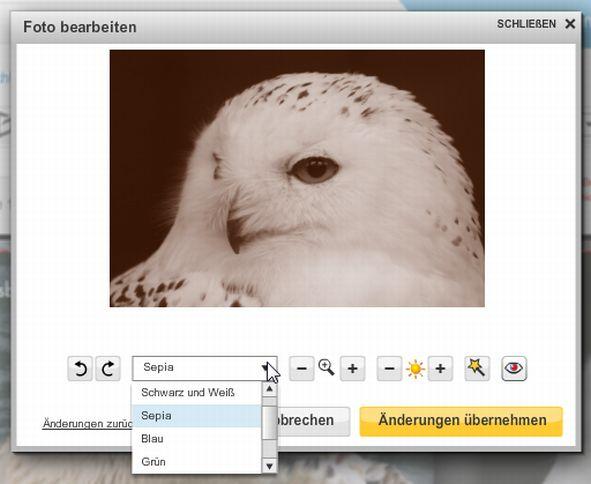 snapfish Fotobücher bildbearbeitungseditor