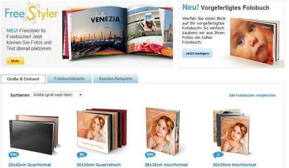 snapfish Fotobuch Überblick