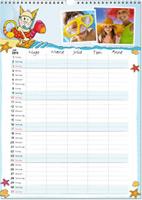 ifolor Fotokalender für Familien